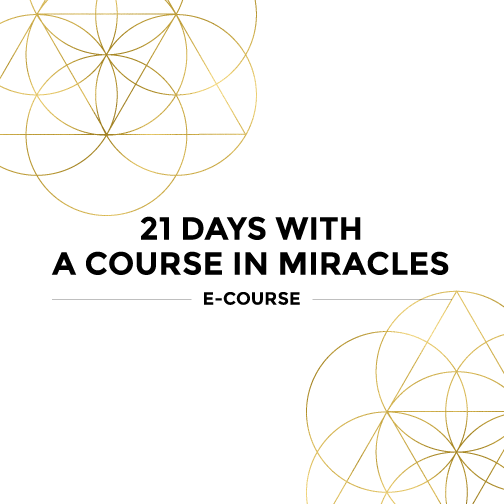 21 Days With A Course in Miracles, A Course in Miracles, Mariaestela, ACIM