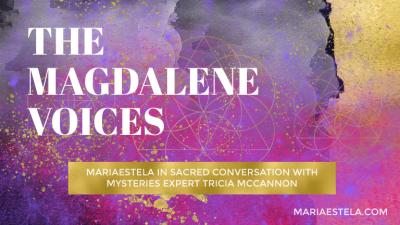 Tricia McCannon, The Magdalene Voices, Mariaestela, Teacher, Facilitator