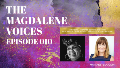 The Magdalene Voices, Asetru & Vodoo, Alexis P. Morgan, Mariaestela, Spiritual Business Coach