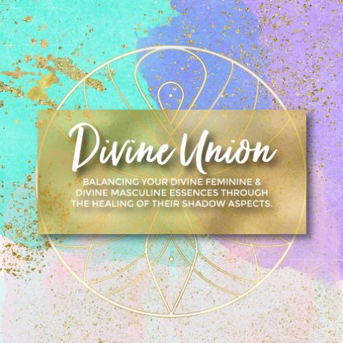 Divine Union - Healing Your Divine Feminine and Divine Masculine Essences Through The Healing of Their Shadow Aspects, Spiritual Business Coach, Mariaestela