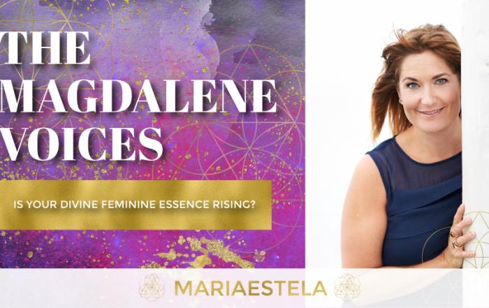 The Magdalene Voices Show & Podcast, Is Your Divine Feminine Essence Rising, Spiritual Business Coach, Mariaestela