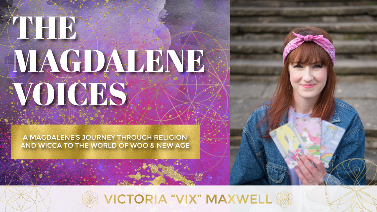 "The Magdalene Voices, A Magdalenes Journey, Victoria ""Vix"" Maxwell, Spiritual Business Coach, Mariaestela"