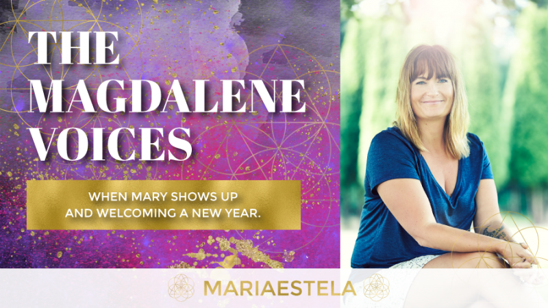The Magdalene Voices, Show & Podcast, When Mary Shows Up, Mary Magdalene, Spiritual Business Coach, Mariaestela