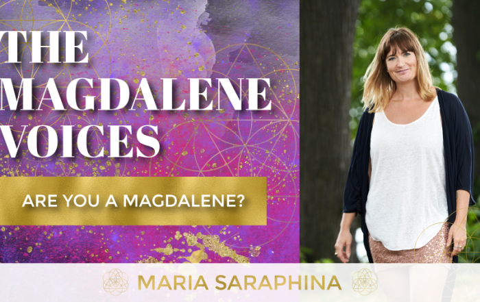 The Magdalene Voices Show & Podcast, Are You A Magdalene, Spiritual Business Coach, Maria Saraphina, EAM Mentor