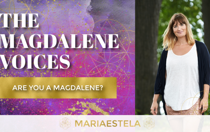 The Magdalene Voices Show & Podcast, Are You A Magdalene, Spiritual Business Coach, Mariaestela