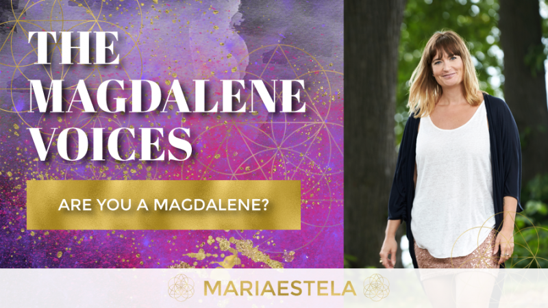 The Magdalene Voices Show & Podcast, Are You A Magdalene, Spiritual Business Coach, Mariaestela