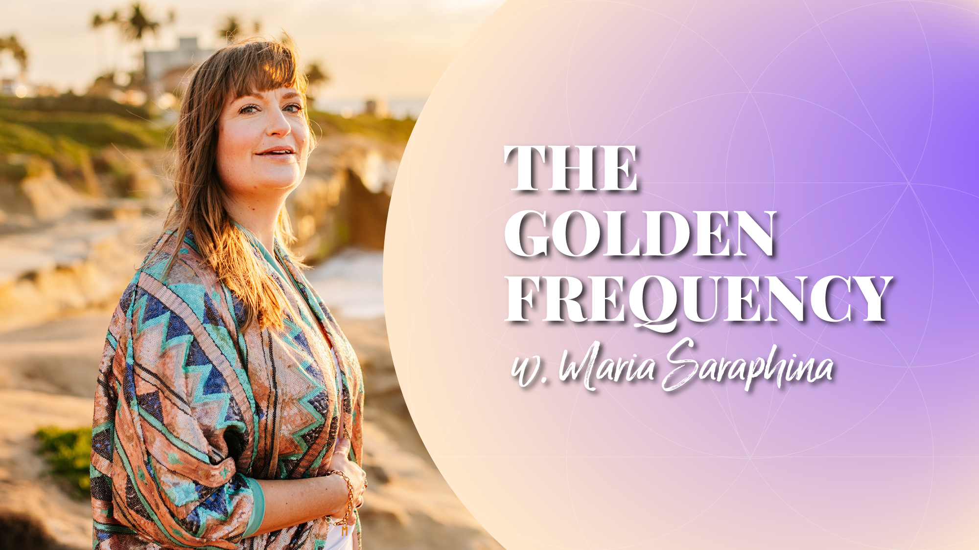 The Golden Frequency Show & Podcast, Spiritual Business Coach, Energy Alignment Method® Mentor, EAM Mentor, Maria Saraphina