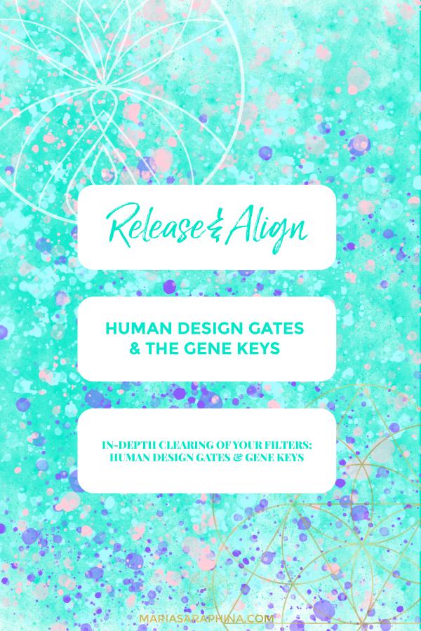 Shop, Elevation, Cleanse Human Design Gates & Gene Keys, Spiritual Business Coach, EAM® Mentor, Maria Saraphina